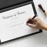 Signing of Certificate of Divorce
